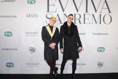 Evviva sanremo party esclusivo Sanremo 2019 Grazia Tv Sorrisi e Canzoni kermesse musicale (10)