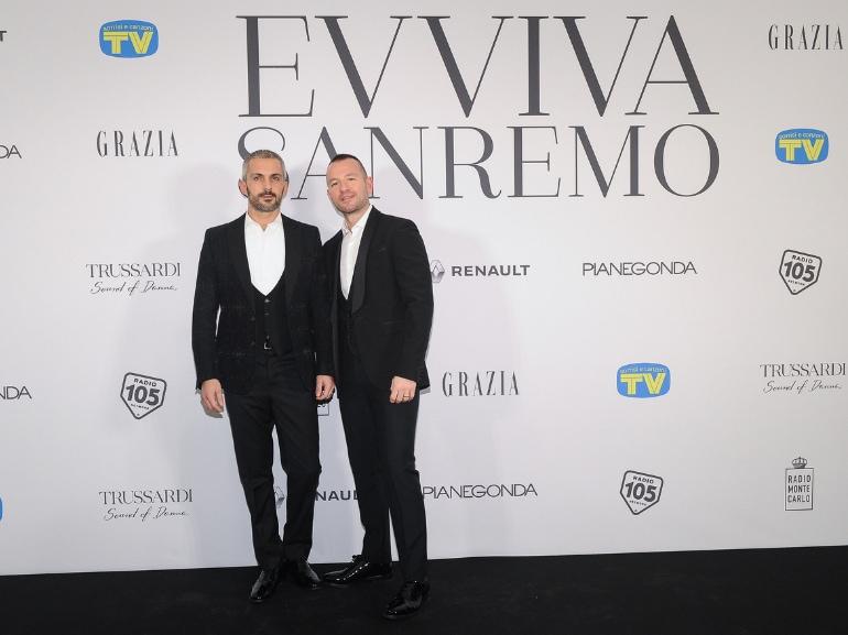Evviva sanremo party esclusivo Sanremo 2019 Grazia Tv Sorrisi e Canzoni kermesse musicale (9)