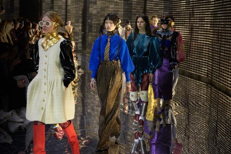 Gucci: la sfilata Autunno Inverno 2019 che va oltre le apparenze