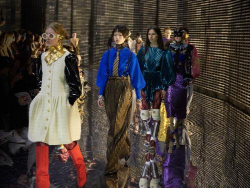 3c74ba10f71f Gucci: il racconto della sfilata Autunno Inverno 2019/2020