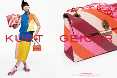 La collezione di Kurt Geiger ha il volto di Susie Lau