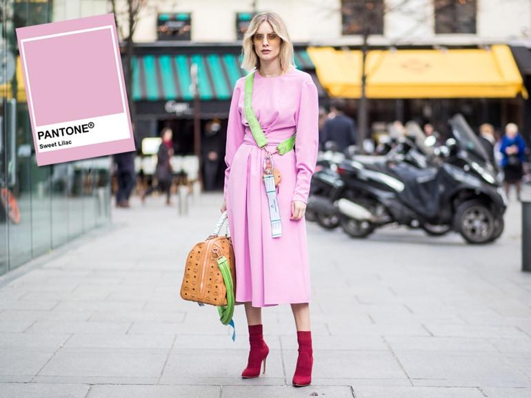 Sweet Lilac: il rosa Pantone per la Primavera 2019
