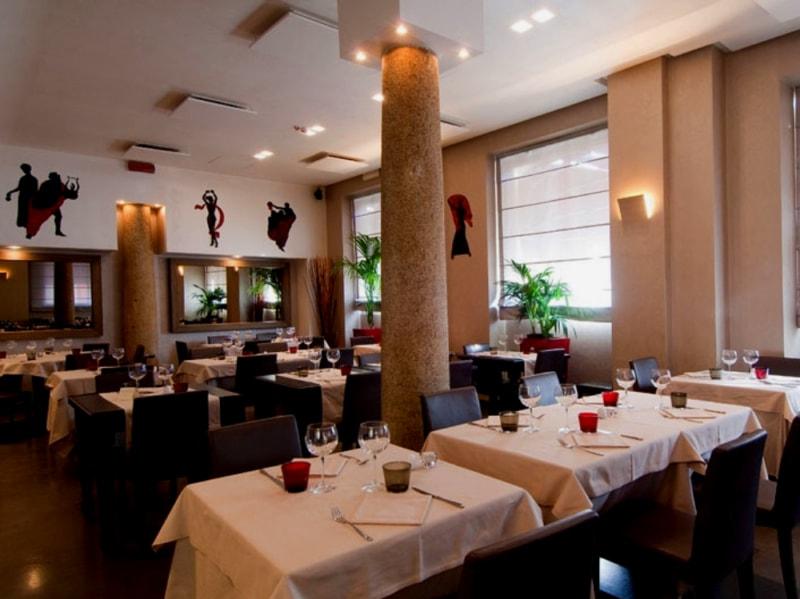 Ristoranti romantici Milano cena romantica Milano dove mangiare in coppia a Milano Ristorante Piazza Repubblica