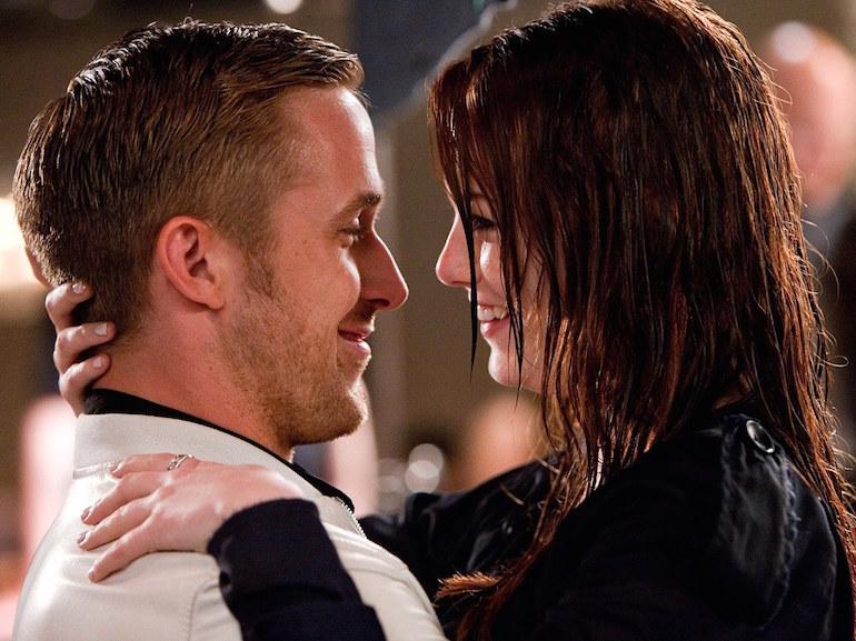 Ryan Gosling bacio