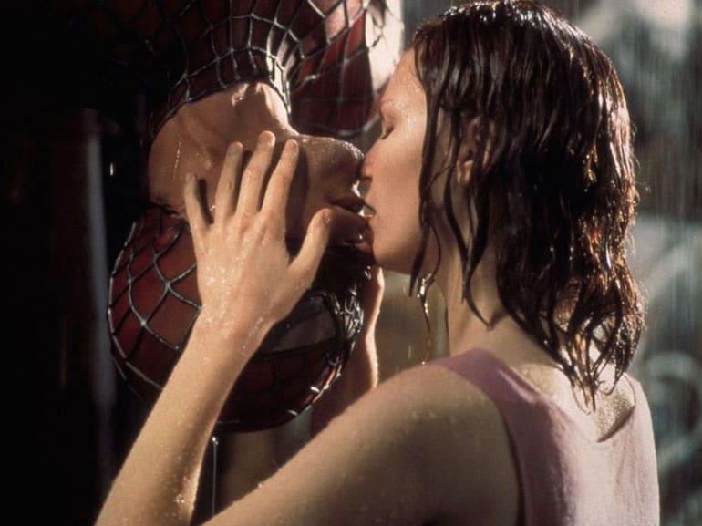 Spider Man bacio