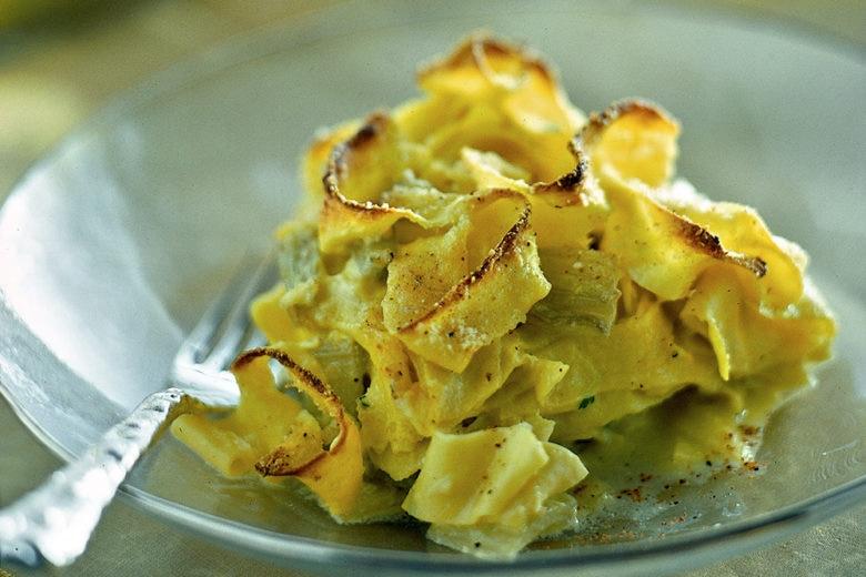 Tagliolini al forno gratinati