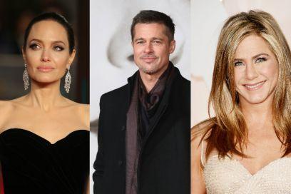 Angelina Jolie gelosa di Brad Pitt e Jennifer Aniston (e medita vendetta)