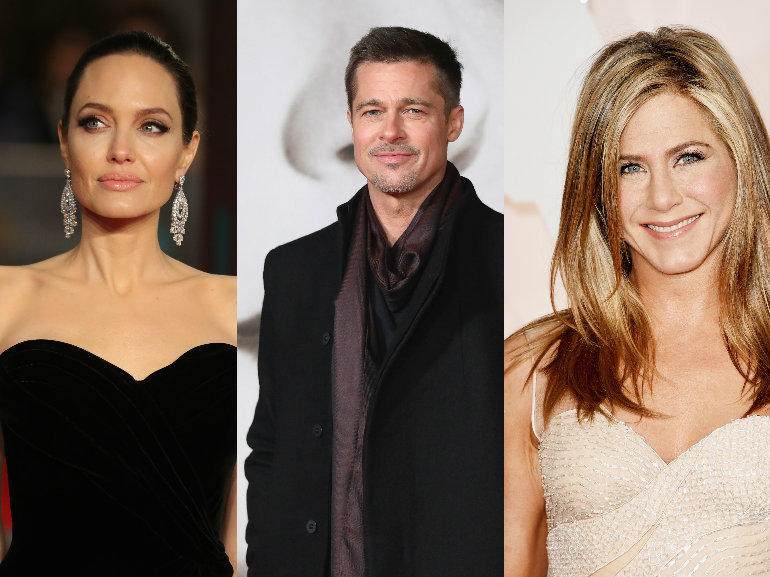 angelina brad jennifer