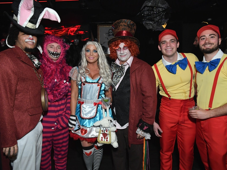 Heidi Klum's 19th Annual Halloween Party Presented By Party City And SVEDKA Vodka At LAVO New York – Inside