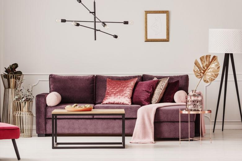 Colori caldi: i più belli per decorare la casa della primavera 2019