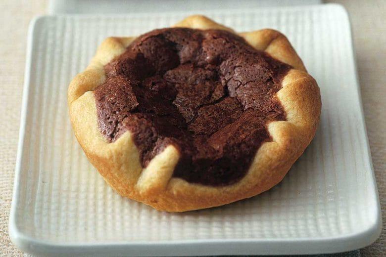 Crostatine al cioccolato e menta