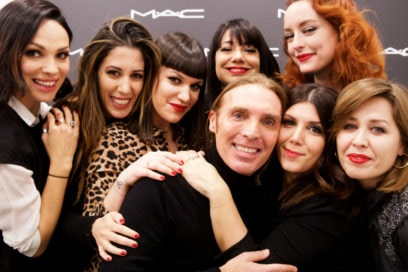 MAC Academy: sette ospiti speciali (e due editor) a lezione di make-up