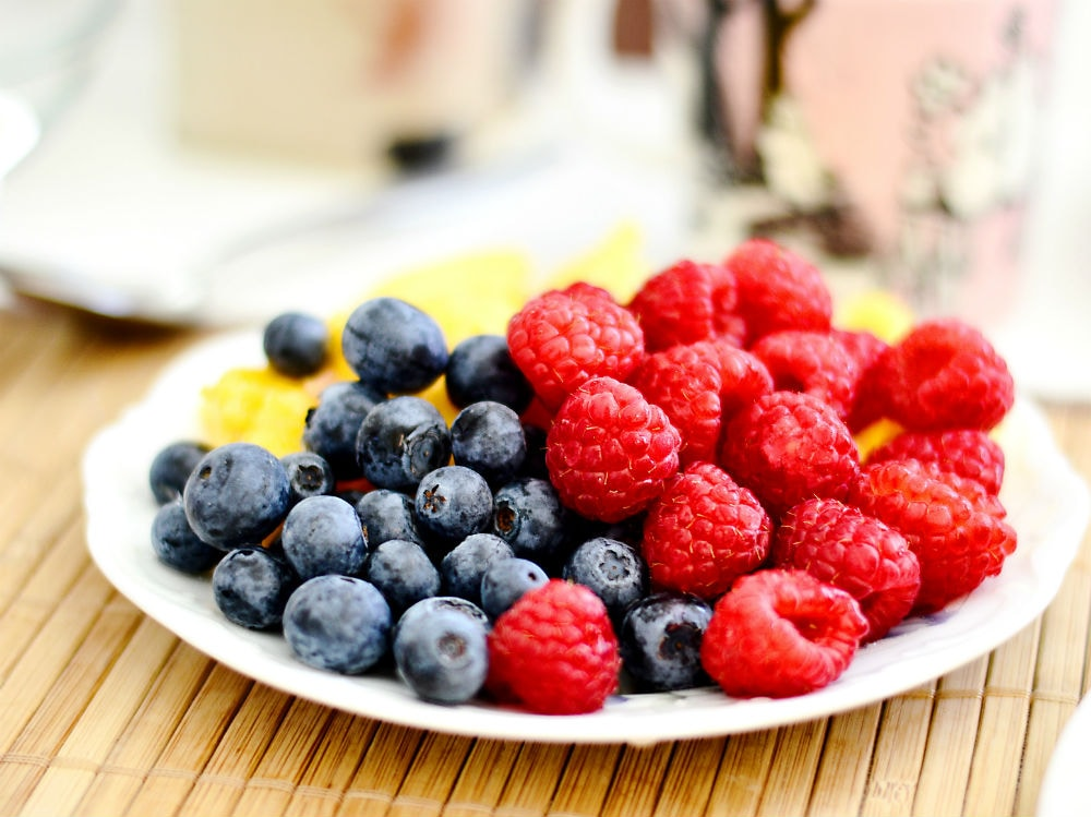 frutta more mirtilli