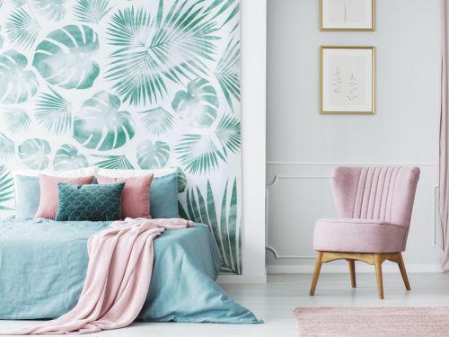 Carta da parati moderna: le idee più belle per la camera da letto ...
