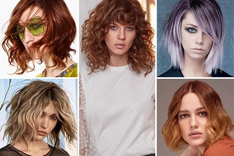 Tagli di capelli medi per la Primavera Estate 2019: tutte le proposte dai saloni