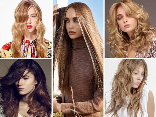 Taglio a capelli lunghi