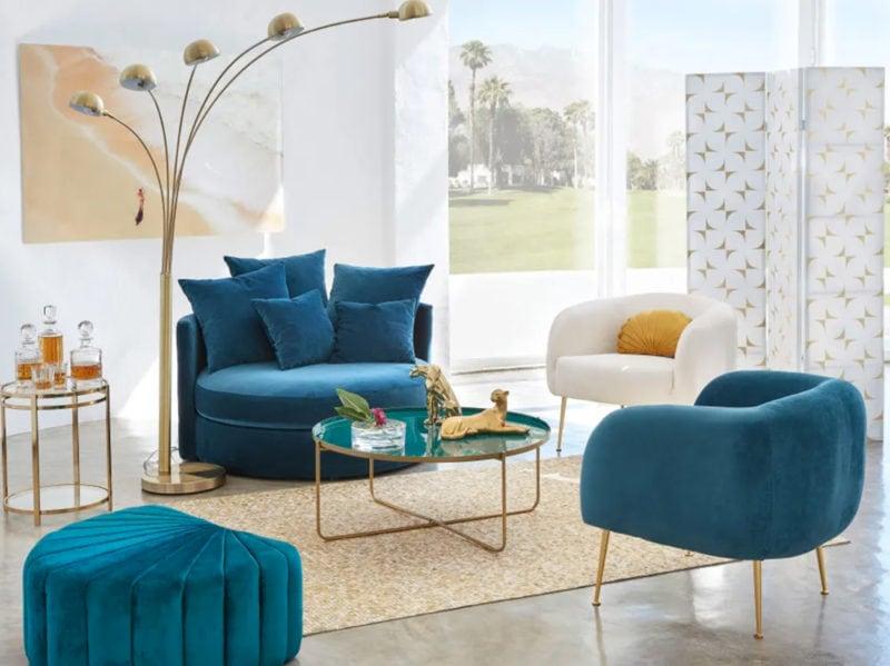 Maisons du monde presenta la nuova collezione california for Scrivania maison du monde