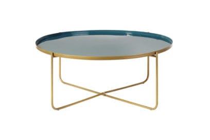 05-Tavolino-da-salotto-rotondo-in-metallo-blu-anatra-dorato-Galet