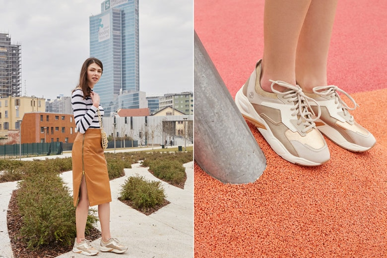 Alla ricerca della sneaker da donna perfetta? Non avete ancora visto le nuove Delphiville di Timberland