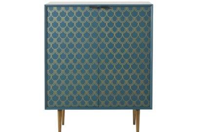 07Credenza-a-2-ante-blu-turchese-motivi-grafici-dorati-BARRACUDA