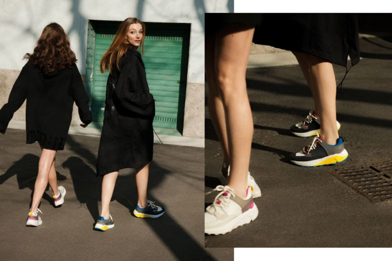 Milano underground? Scopritela con le nuove sneaker D/ONE di Dondup