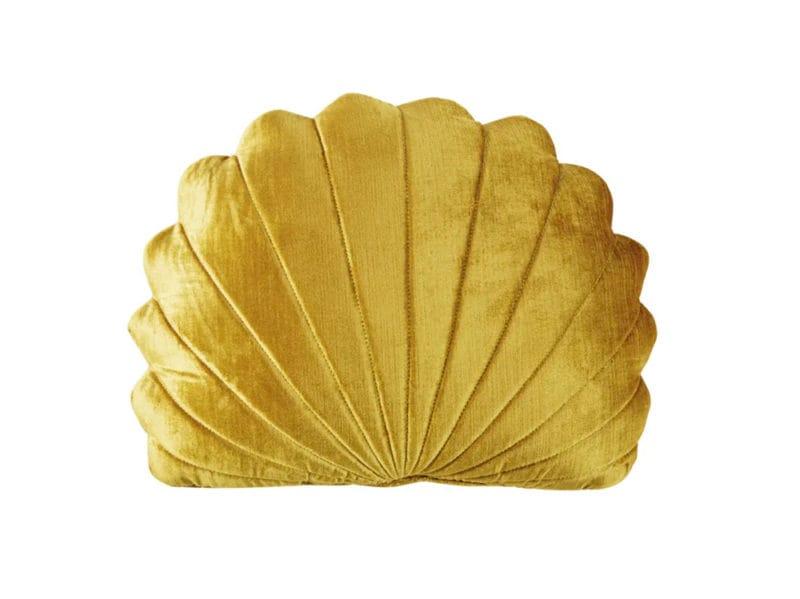 24-Cuscino-conchiglia-dorata,-30×40-cm-Shell-