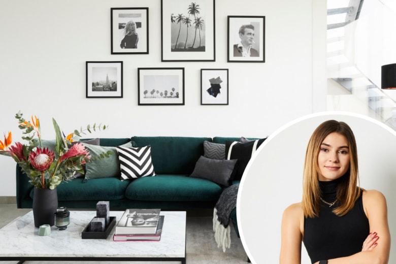 Stefanie Giesinger apre le porte del suo appartamento a Berlino