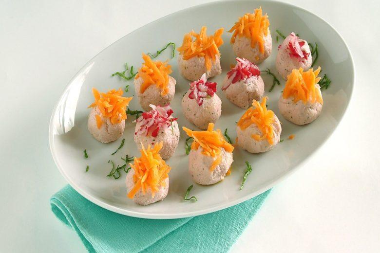 Bocconcini di ricotta e carota