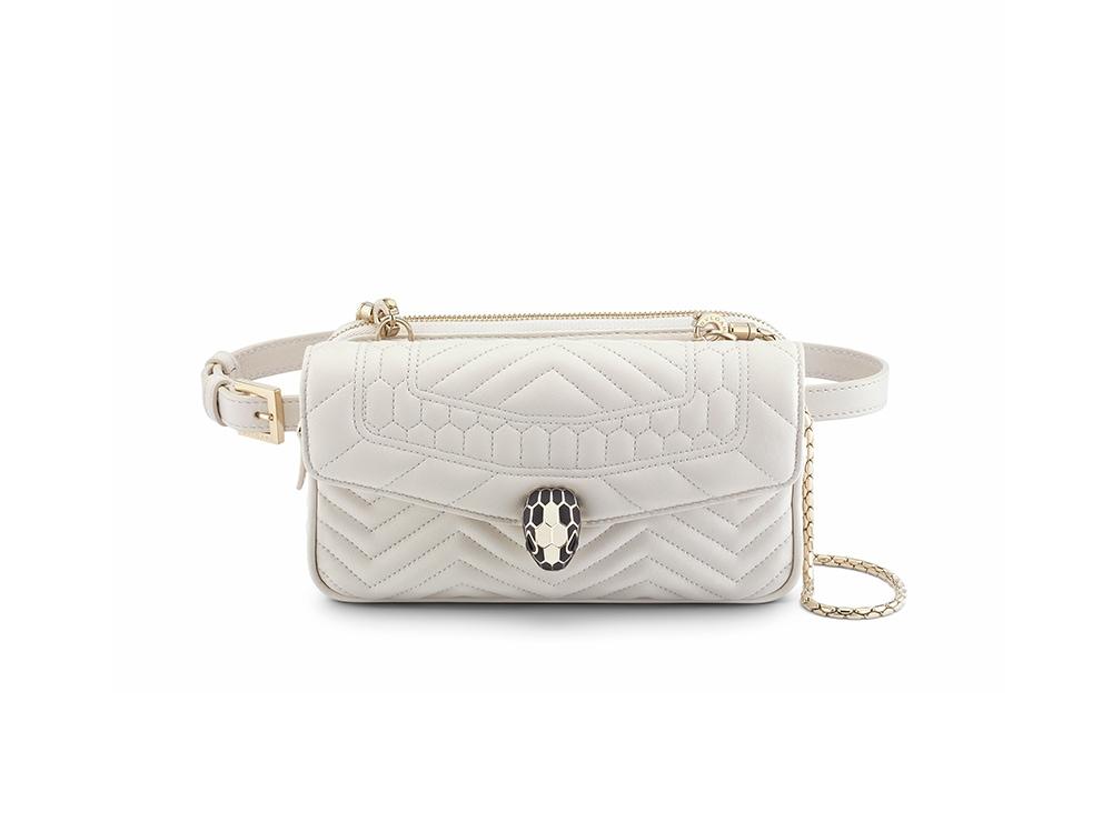 Bvulgari-Belt-Bag-White