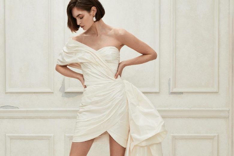 Abiti da sposa: i modelli corti per il 2019