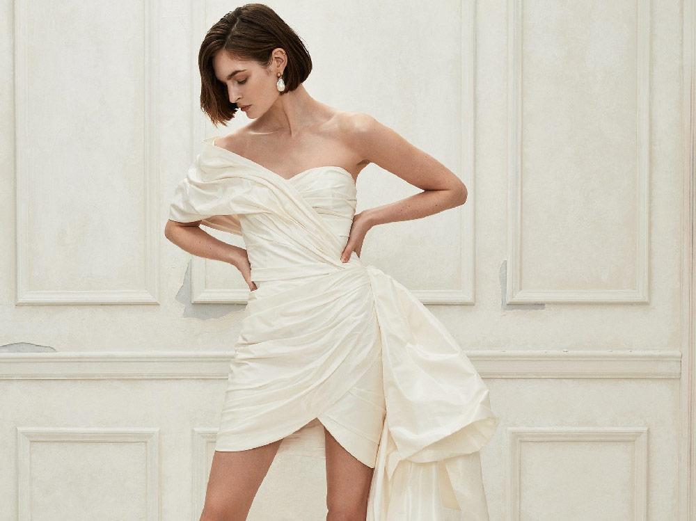 Abiti Corti Da Sposa.Abiti Da Sposa Corti 2019 I Modelli Piu Belli Del Momento