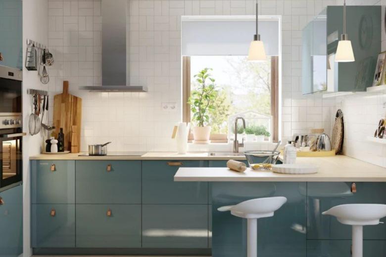 9 idee originali per arredare una cucina piccola