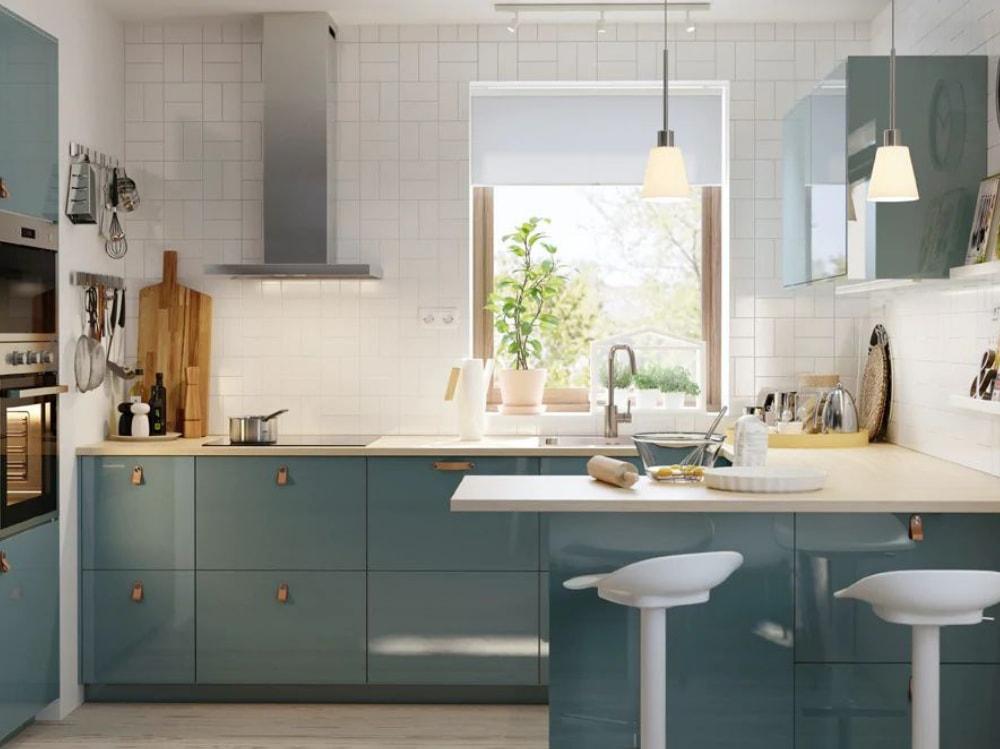 Idee Cucina Piccoli Spazi.9 Idee Originali Per Arredare Una Cucina Piccola Grazia It