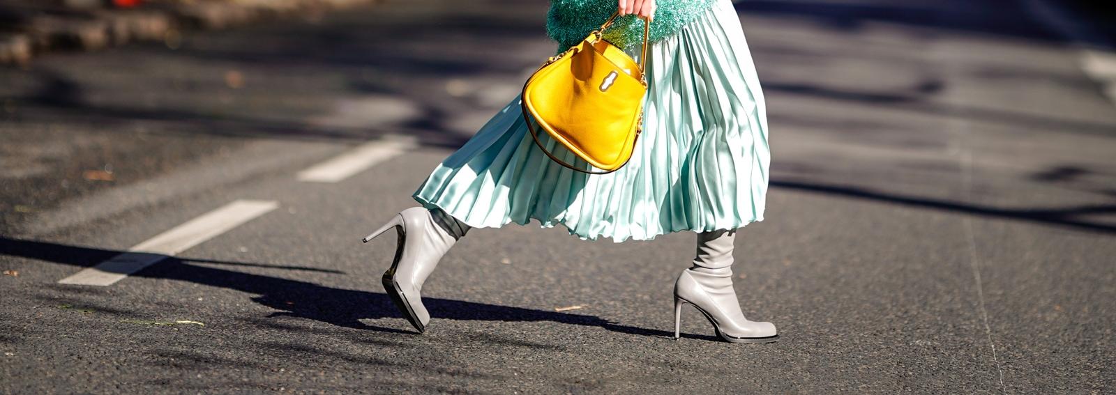 Gonne plissettate: le versioni più glam della primavera-estate 2019