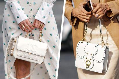 Con queste borse bianche la Primavera è già qui!