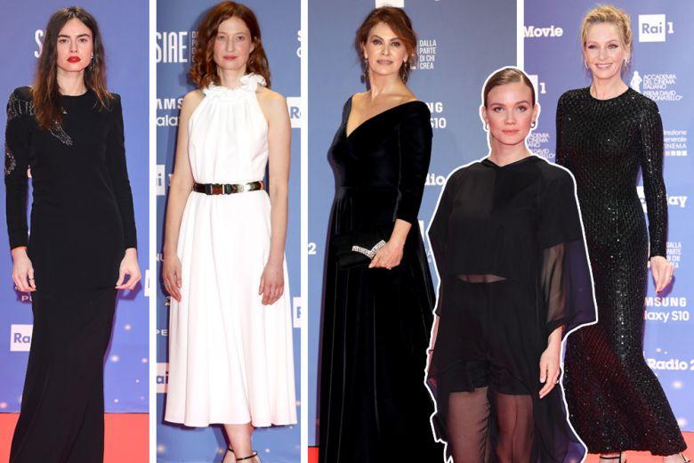 David di Donatello 2019: gli abiti e i look delle star sul red carpet