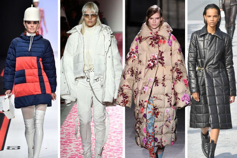 Piumini: le tendenze e i modelli dell'inverno 2019 dalle passerelle