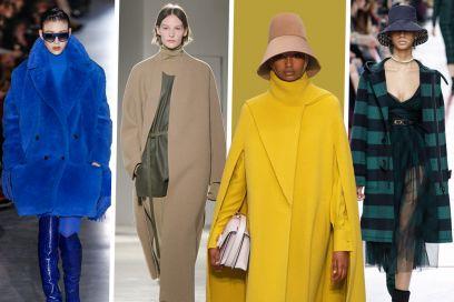 Cappotti: i modelli must-have per l'Autunno Inverno 2019-20 visti in passerella