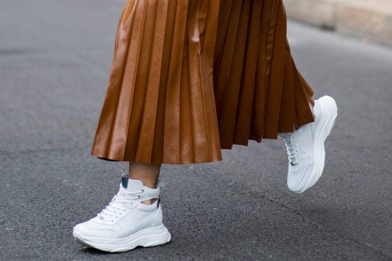 White Sneakers: le versioni bianche che renderanno i vostri look super cool!
