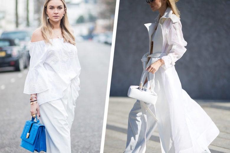 Total white: i capi e gli accessori in bianco ottico da sfoggiare quest'estate!
