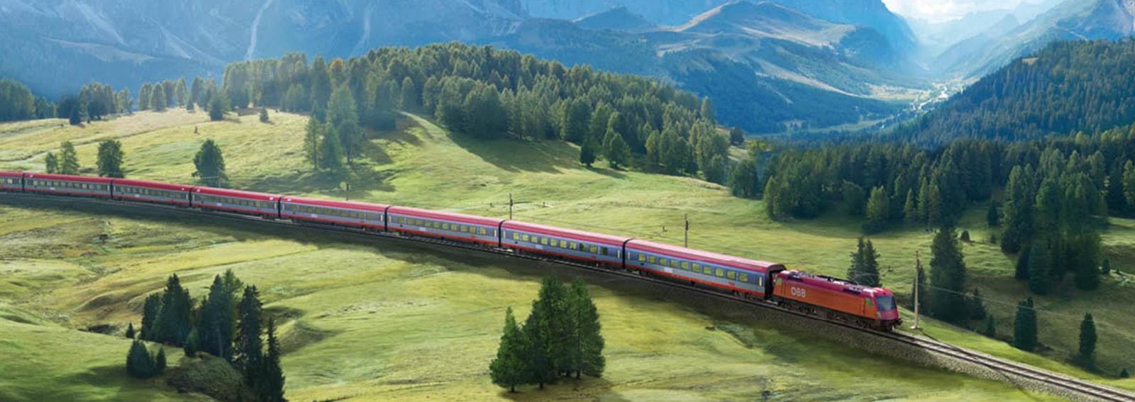 Il viaggio che hai dentro il gruppo DB BAHN ITALIA Ferrovie tedesche in collaborazione con le Ferrovie austriache agenzia Altavia Italia campagna 2019 DESK