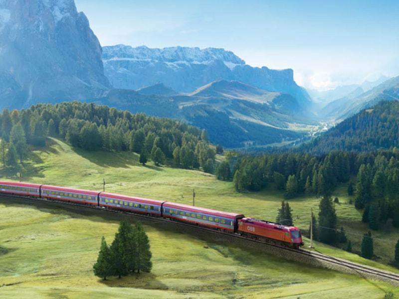 Il viaggio che hai dentro il gruppo DB BAHN ITALIA Ferrovie tedesche in collaborazione con le Ferrovie austriache agenzia Altavia Italia campagna 2019 MOBILE