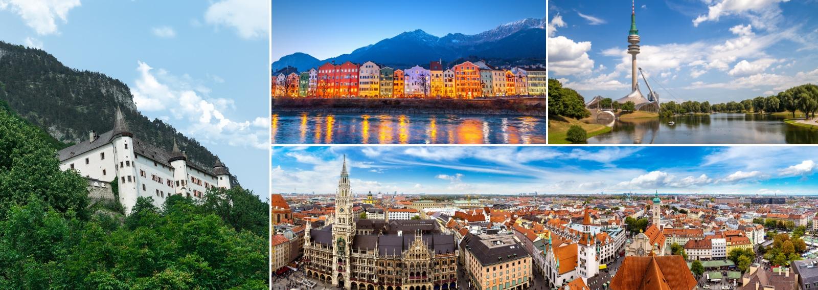 Innsbruck Monaco Jenbach Il viaggio che hai dentro DB BAHN ITALIA Ferrovie tedesche e Ferrovie austriache DESK