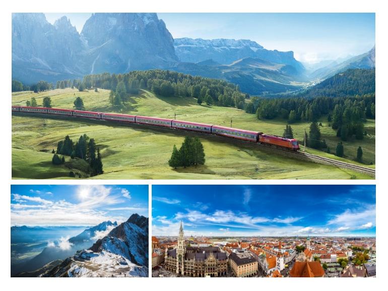 Innsbruck Monaco Jenbach Il viaggio che hai dentro DB BAHN ITALIA Ferrovie tedesche e Ferrovie austriache MOBILE