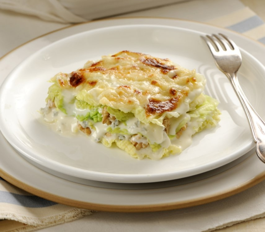 Lasagne verdi con verza e noci (2)