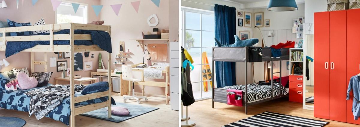 Letti a castello per la camera dei bambini: i modelli più ...