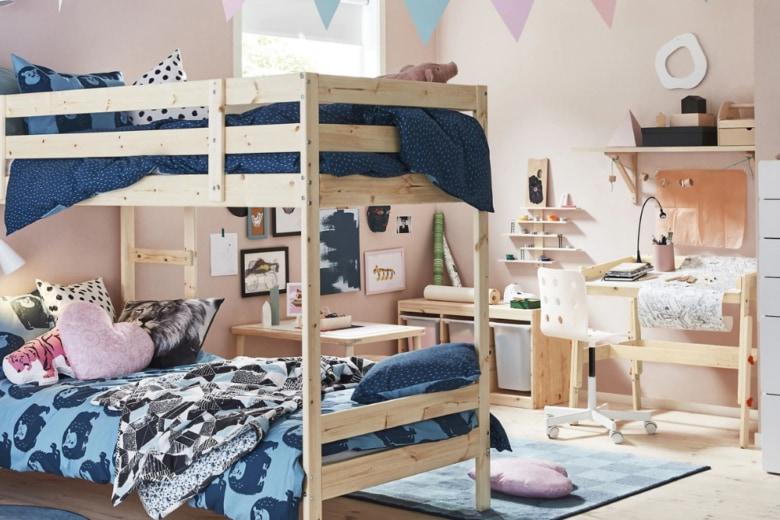 Letti a castello per la camera dei bambini: i modelli più belli