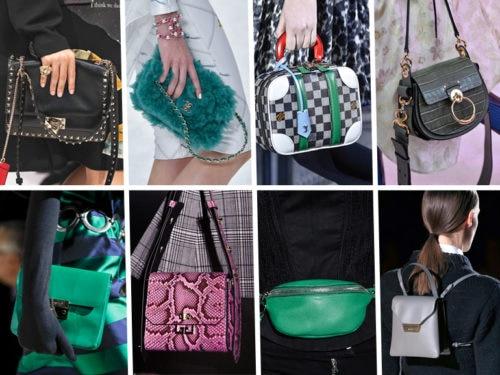 Borse moda Autunno Inverno 2019 2020: le tendenze dalle sfilate
