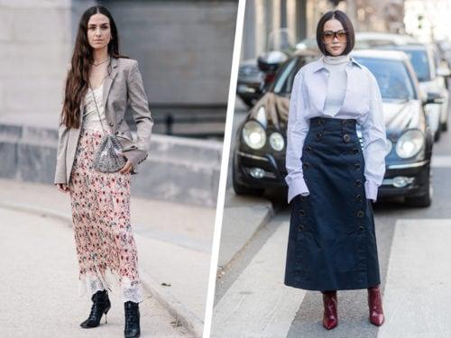 online retailer 6de96 4f8da Gonne lunghe: i modelli per la primavera estate 2019