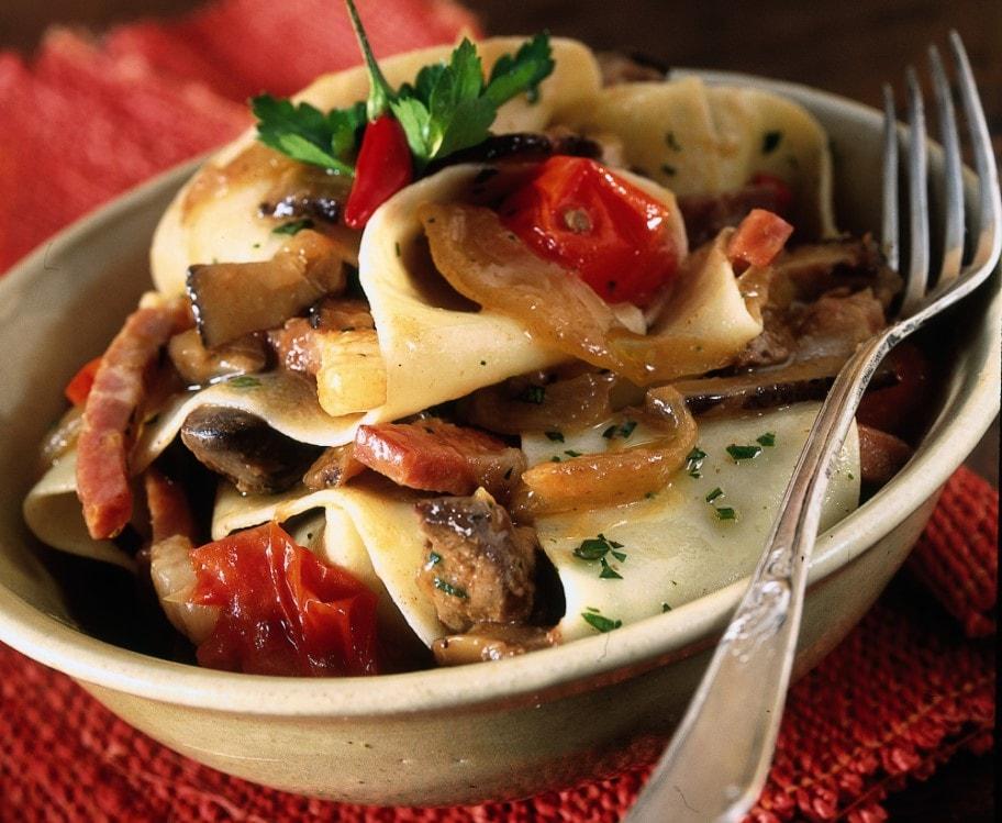 Pappardelle ai funghi porcini (3)